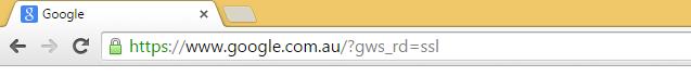 Google's SSL
